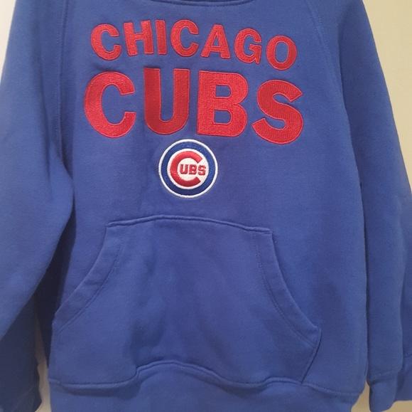 finest selection cb339 b9ea3 Boys Chicago Cubs Sweatshirt Hoodie